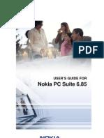 Nokia PC Suite 685 UG Eng