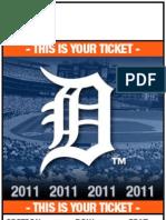 Detroit Tigers ticket