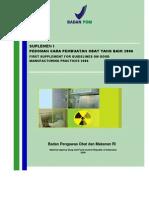 Buku Suplemen I CPOB 2006