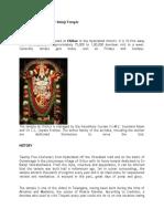 The Visa God - Chilkur Balaji Temple
