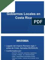 Los Gobiernos Locales en Costa Rica