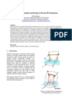 Botswana Journal of Technology 2010 - Computer Simulation and Design of 2D and 3D Mechanisms