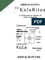 John R. Dupuche - Abhinavagupta The Kula Ritual