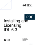 Installing and Licensing IDL 6 3