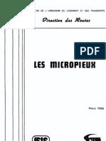SETRA Guide Micropieux 1986