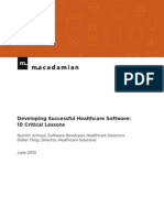 Macadamian_10HealthcareSoftwareLessons