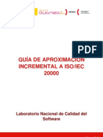 Guia de ion Incremental a Iso 20000