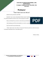 PRA trabalho de lingua inglesa de gestão de stocks Prolusion