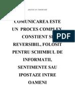 Modulul IV- comunicare