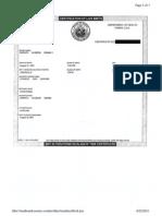 President Barack Obama's Birth Certificate
