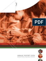 Bsci Annual Report 2008