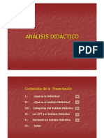 ANALISIS DIDACTICO