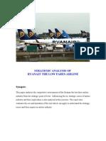 Ryanair Strategic Analysis