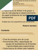 Uso de Role-playing No to de Funcao- Roberto Gandara
