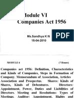SKN Companies Act 1956