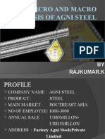 Micro and Macro Analysis of Agni Steel - Copy