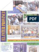 Reportaje EGF Guarayos en El Inter Provincial