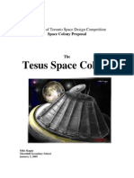 Space Settlelemt Contest Project tesus2005
