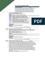 Business Deregulation & Economic Reform Bills