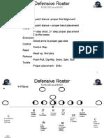 Defensive Line Drills 2007