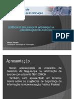 Exigência de Segurança da Informação na Administração Pública Federal - PSI UFC