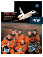 NASA press kit for STS-134 Endeavour mission
