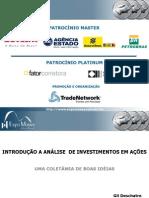 - INTRODUÇÃO À ANÁLISE DE INVESTIMENTOS EM AÇÕES bom