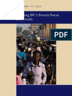 Assessing IFC's Poverty Focus and Results