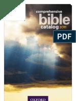 Oxford Bible Catalog - 2011