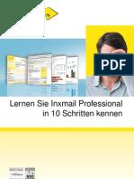 Lernen Sie Inxmail Professional in 10 Schritten kennen