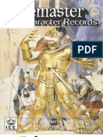 ICE1002 - Role Master - Character Records QOS 4