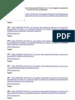 Reales Decretos Sobre Traspasos de Funciones Del Estado a Las CC.aa de Algunas Competencias en Materia de Buceo Profesional
