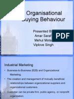 Organisational Buying Behaviour