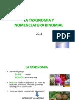 TAXONOMIA_NOMENCLATURA