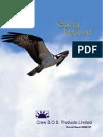 Annual Report 2006-07crew Bos