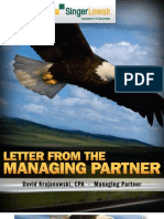 Letter From The Managing Partner  - Nov 2010