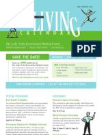 OLR Living Calendar May-Aug. 2011