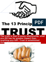 13 Principales of Trust-presentatio by Sompong Yusoontorn