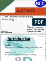 Ford's 8 D for Presntati