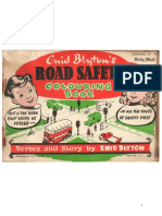 Blyton Enid Road Safety Colouring Book