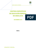 Informe Defensor Del Menor Sobre Colegios Especiales