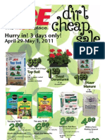Seright's Ace Hardware Dirt Cheap Sale