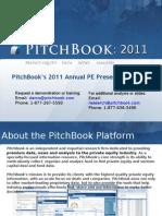 PitchBook PE Trends 2011 Presentation Deck