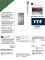 Checklist Brochure Complete