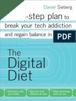 The Digital Diet by Daniel Sieberg - Excerpt