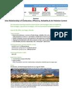 Las Vegas June 2011 UDC Alliance Inter Relationships Combustion APC Agenda