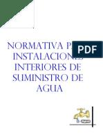 Normativa Para Instalaciones de Plomeria