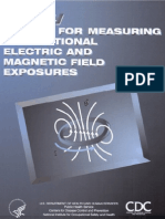 Manual for Measuring Occupational Electric and Magnetic Field Exposures