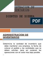 Control de Inventarios Dientes de Sierra
