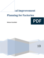 Practical Improvement Planning for Factories